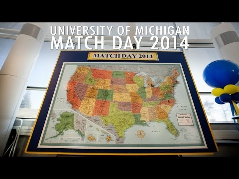 Match Day 2014 - University of Michigan Medical School