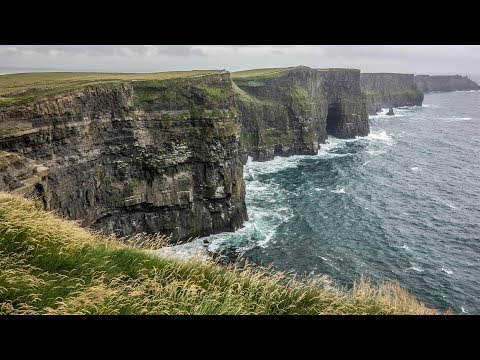 Motorcycle Trip to Ireland & Scotland - Western Irish Coast and The Cliffs of Moher - Part 11