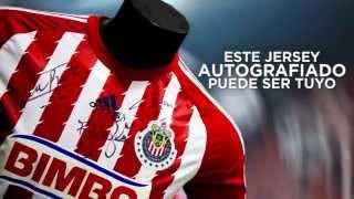 Gana un jersey autografiado con Tienda Chivas