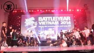 S.I.N.E vs BIGTOE | FINAL | BOTY VIETNAM 2014