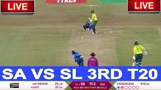 Live Score: SriLanka women vs South Africa women 3rd T20 2019 I live Streaming I SL VS SA T20 Match