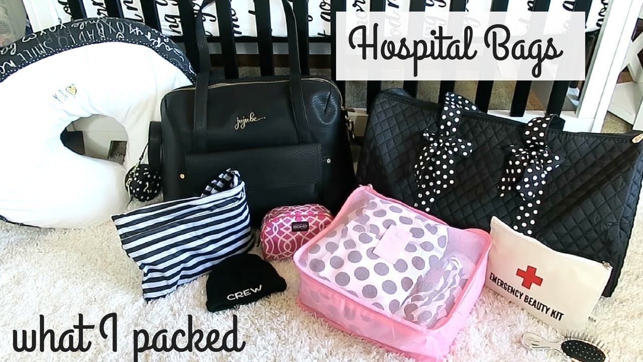 What S In My Hospital Bag 2018 I Went All Out