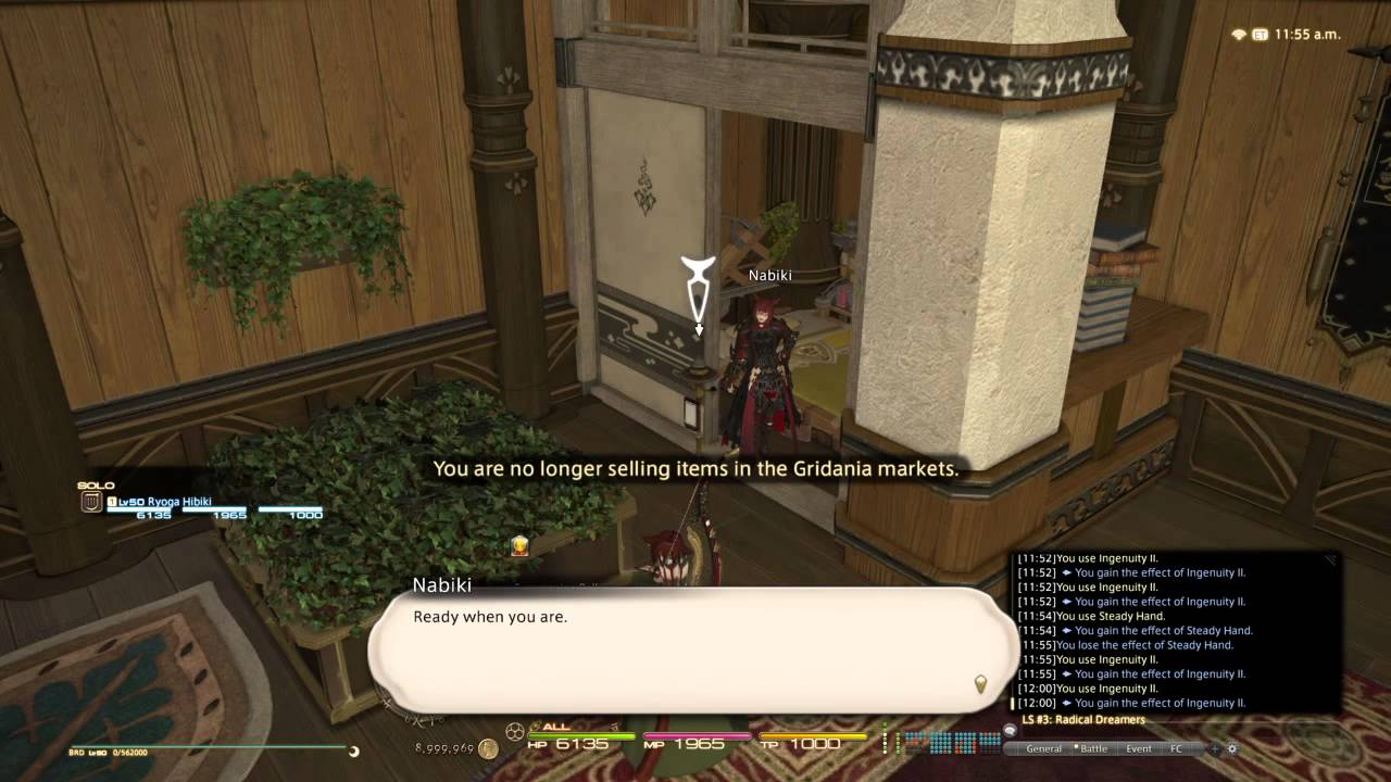 FINAL FANTASY XIV: Housing - Retainer Bell Placement