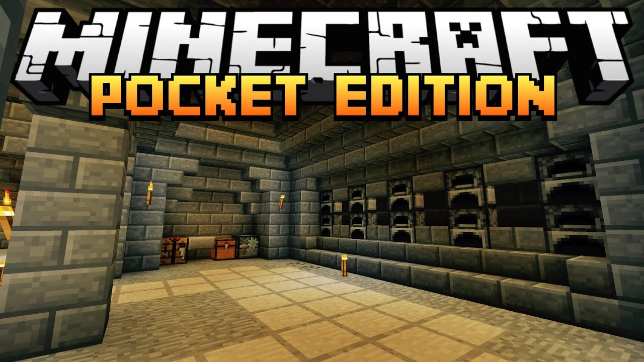 "Minecraft PE (UGC): Episode 7 - ""Furnace Room"" - YouTube"