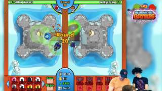 BTD Battles - Bruno and Locky Play CRAZY Arenas!