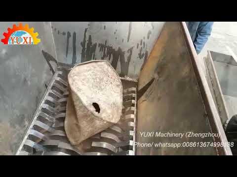 Metal Shredder Machine - Plastic Crusher - Can Crusher - Aluminum Can Crusher