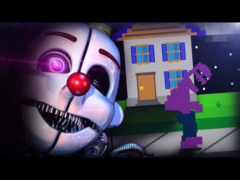 Wait.. THE PURPLE GUY WAS ENNARD!? || FNAF: Sister Location Custom Night (Purple Guy Cut-Scene)