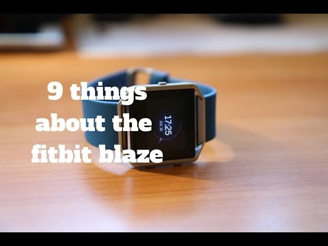 Fitbit Blaze Review: 9 Things You should know