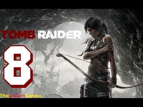 Прохождение Tomb Raider на Русском (2013) - Часть 8 (Потери и Жертвы)