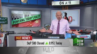 Jim Cramer Discusses The Fed's Latest Policy Meeting And Positive Evergrande Developments