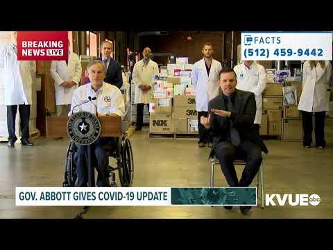 Coronavirus In Austin, Texas: Gov. Abbott Gives Update On State's COVID-19 Response   KVUE