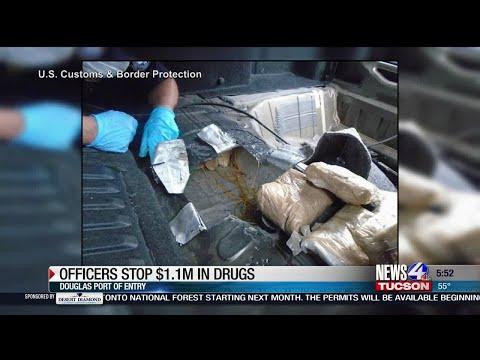 US border officials seize $1 million in heroin in Arizona