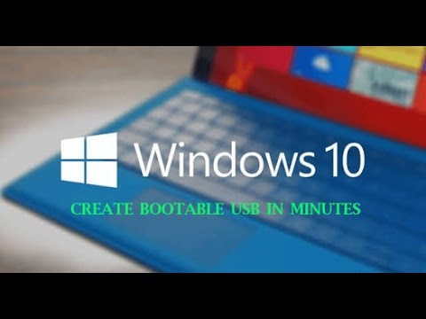 how to make windows 10 bootable pendrive