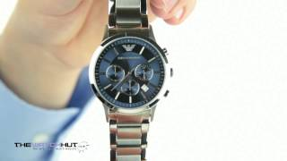 emporio armani chrono watch ar2448