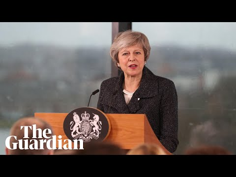 Theresa May makes Brexit speech in Northern Ireland – watch live