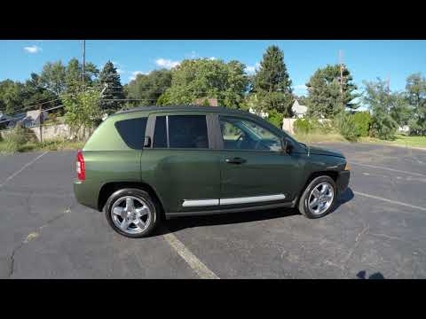4K Review  2007 Jeep Compass Limited Virtual Test-Drive & Walk-around