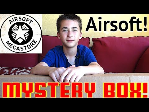 Airsoft Megastore Airsoft Gun Mystery Box Opening - WHAT'S INSIDE?