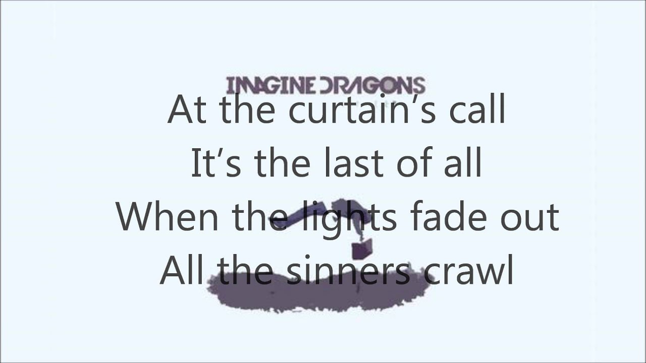 imagine dragons demons lyrics song - photo #35