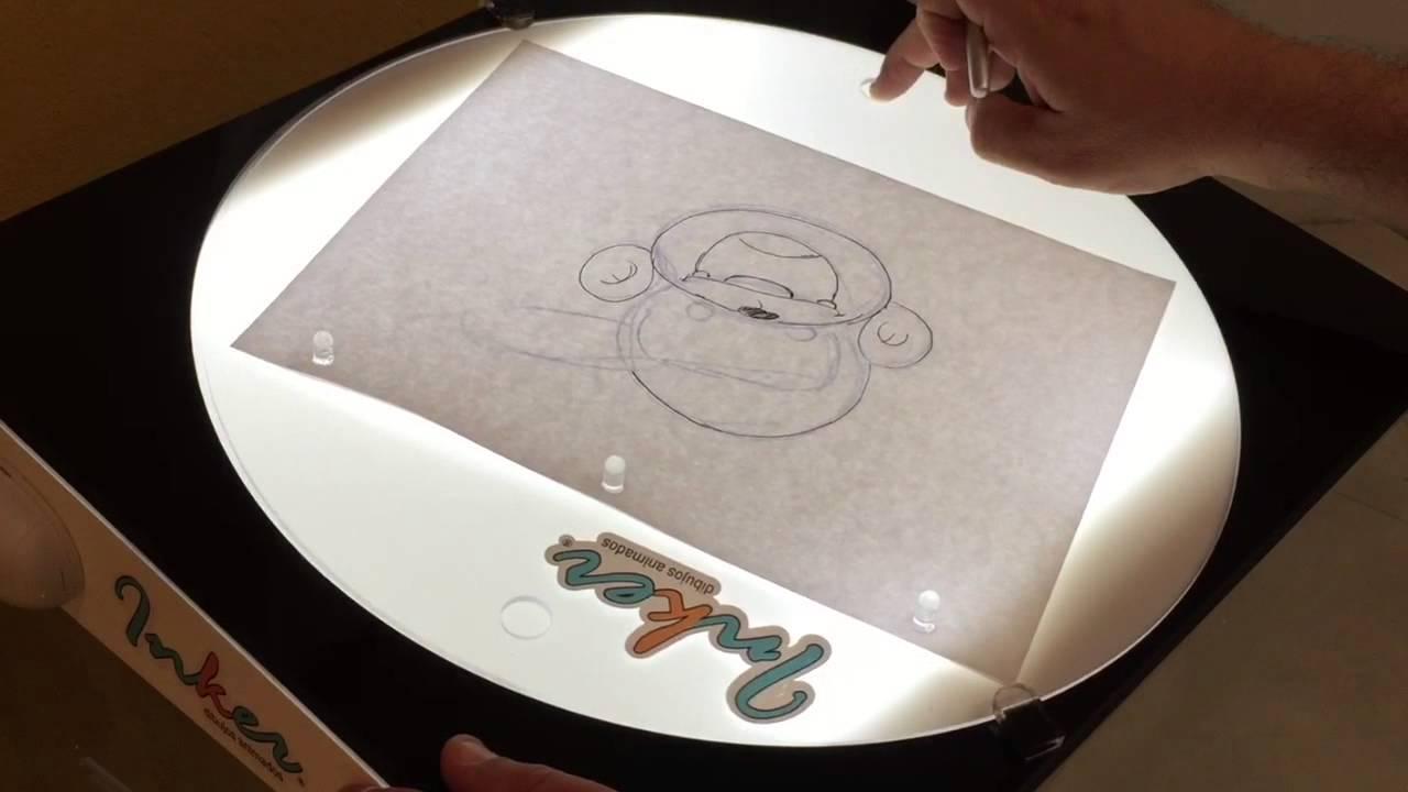 Mesa de dibujo y animaci n inker youtube for Mesa de dibujo con luz