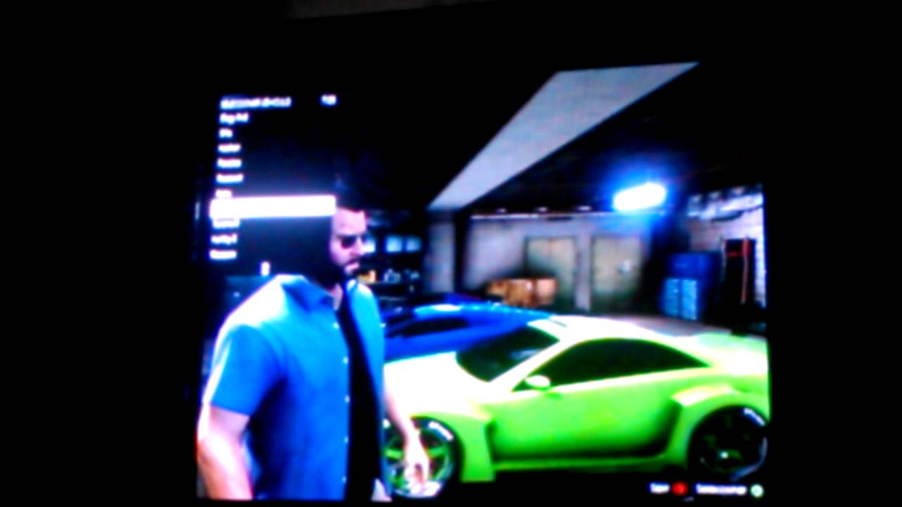 Gta V Truco De Como Conseguir Coches Especiales Youtube