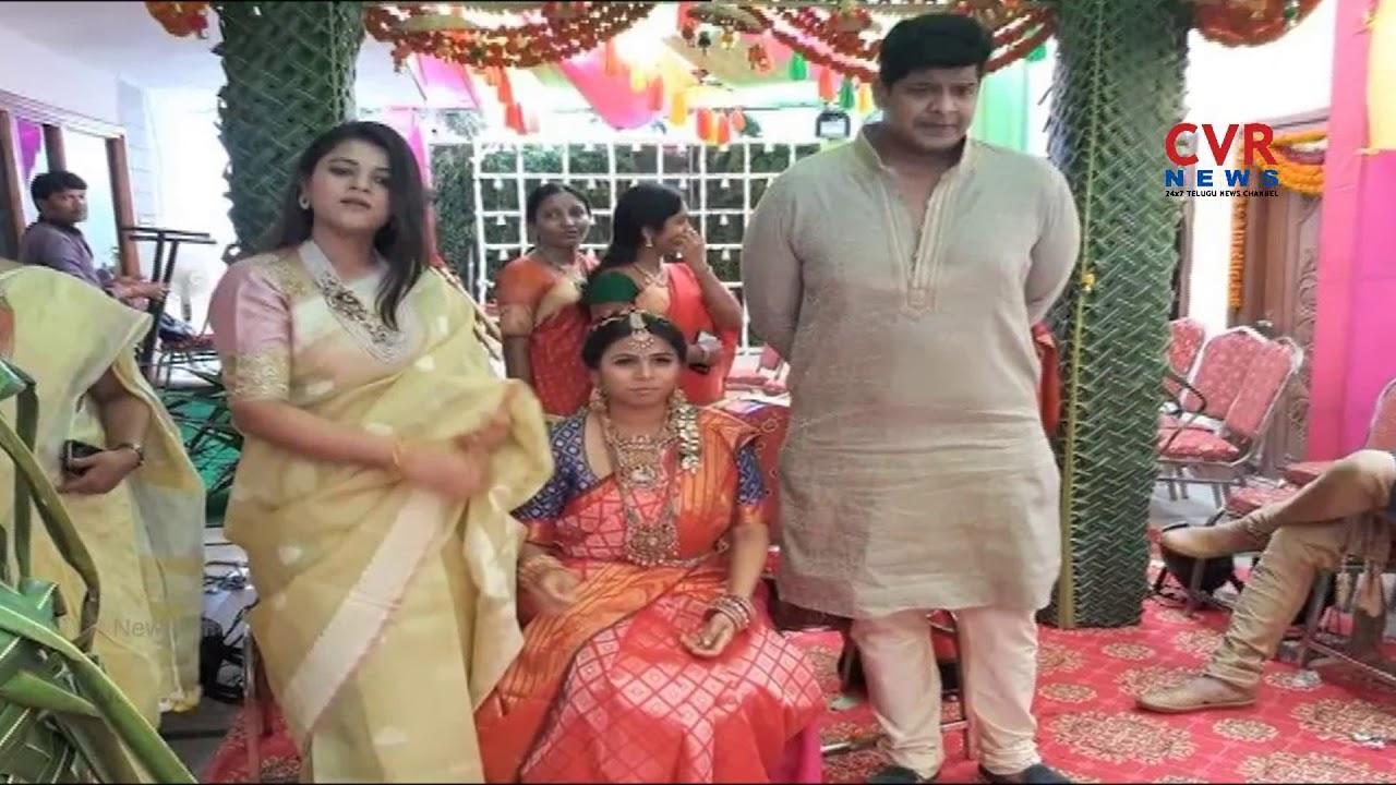 AP minister Bhuma Akhila Priya's wedding celebrations   CVR NEWS