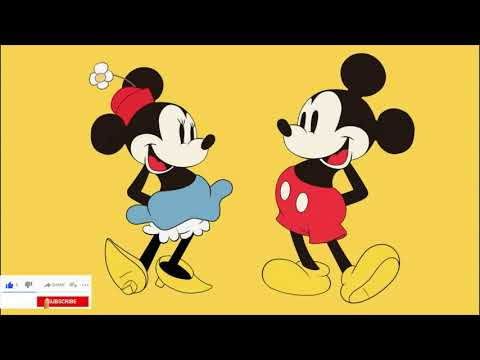 Digitial Paint Mickey and Minnie [Speed Paint] (Photoshop)