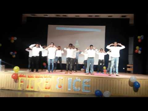 Fresher party, 2014 Amity Business School, Lucknow