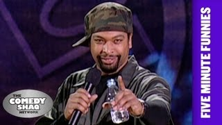 DeRay Davis⎢A Natural Disaster Trumps Any Fight Your Having⎢Shaq's Five Minute Funnies⎢Comedy Shaq