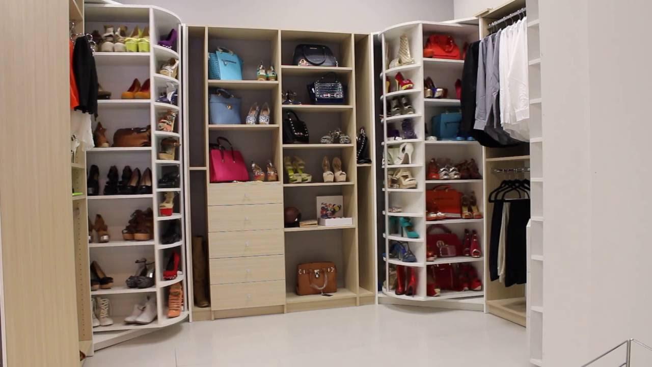 Charming The Revolving Closet Organizer   A Spinnin Closet Organizer