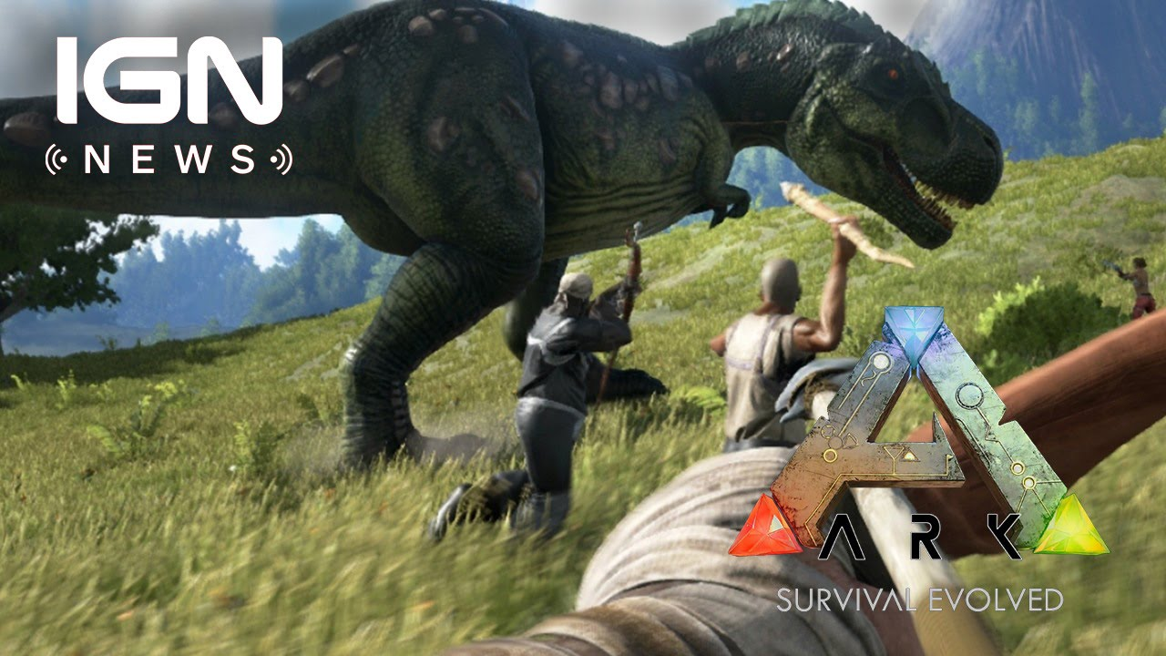 Open World Dinosaur Survival Game ARK Gets its First Trailer   IGN     Open World Dinosaur Survival Game ARK Gets its First Trailer   IGN News    YouTube