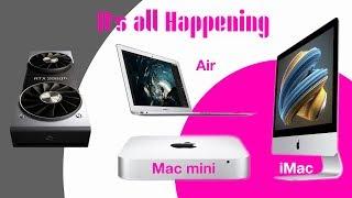 New 2018 Mac Mini - MacBook Air - iMacs on The Way & RTX 2080 Benchmarks