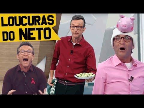 NETO ZOANDO PALMEIRAS, CRITICANDO NEYMAR E MUITO MAIS LOUCURAS NA TV