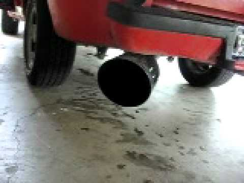 Ford Ranger Exhaust Tip >> 4.0l V6 93 Ranger with 10 inch bell tips - YouTube