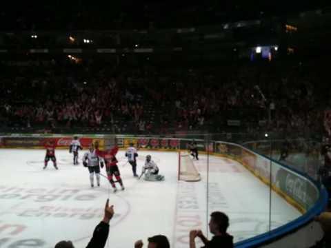 Kölner Haie - ERC Ingolstadt (2:2 - Mats Trygg)