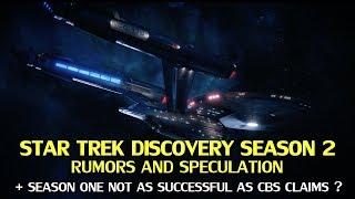 Star Trek Discovery Season 2 Rumors and Speculation