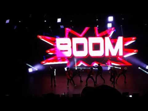 170129 Got7 - Boom x3 @Flight Log: Turbulence in LA