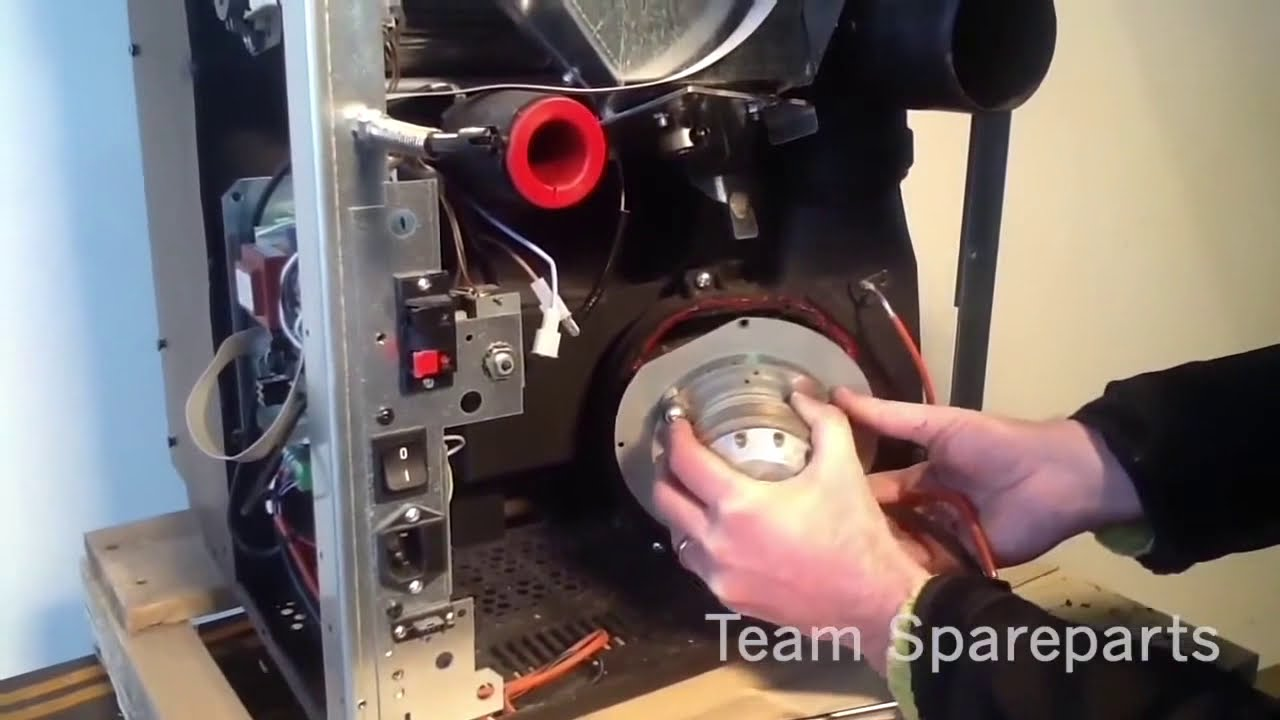 how to change a pellet stove exhaust blower exhaust fan or combustion blower