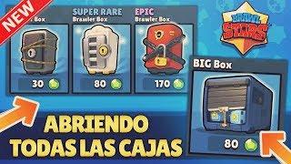 ¡¡ABRIENDO TODAS las NUEVAS CAJAS!! ¡¡BIG BOX & EPIC BOX!! - ACTUALIZACIÓN BRAWL STARS