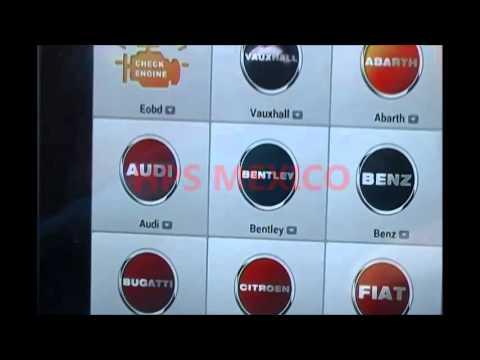 HPS MEXICO falla sensor f125 audi a6 multitronic cvt 01j maxisys ms906