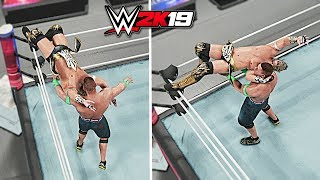 WWE 2K19 Top 10 Finisher to Finisher Reversals!! Part 3