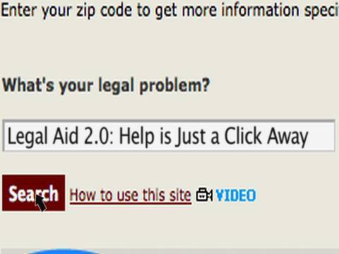 Legal Aid 2.0: Help is Just a Click Away