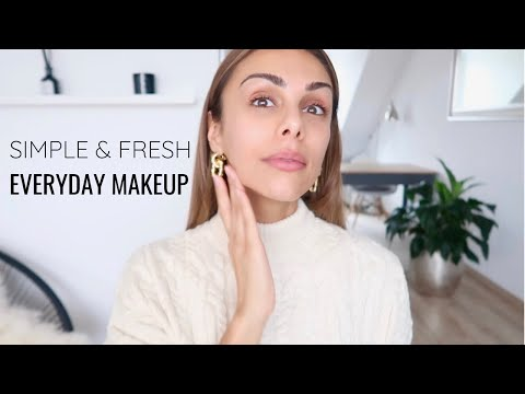 MY FRESH EVERYDAY MAKEUP ROUTINE (+ Morning Skincare) | Annie Jaffrey