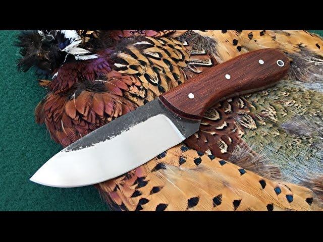 Custom Knife Making Hunting Camping Home Made Blades Youtube