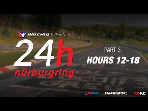 iRacing 24 Hours Nürburgring // Hours 12-18