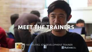 Meet the Trainers: Bayu Yasaputro