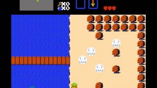 The Legend of Zelda - Legend of Zelda (NES)through part one - User video
