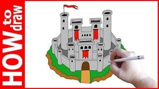 How to draw castle, Как нарисовать замок(INSTAGRAM: https://www.instagram.com/dmitrysyrman/ Я в ВКОНТАКТЕ: http://vk.com/syrman_d Группа в ВКОНТАКТЕ: http://vk.com/public59608073 I'm on ..., 2016-12-05T06:19:00.000Z)