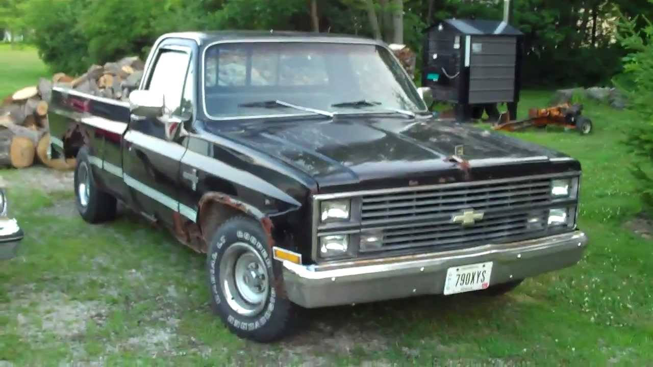 1983 Chevy Silverado RUSTED OUT WATCH Classic G-Body Garage - YouTube