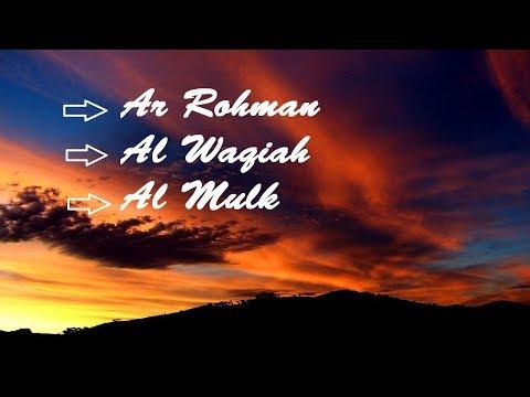 Ar Rahman AL Waqiah Al Mulk Bacaan Surat Harian