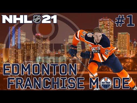NHL 21 Edmonton